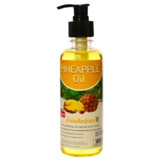 Ананасовое массажное масло Banna Pineapple Oil с дозатором 250 мл