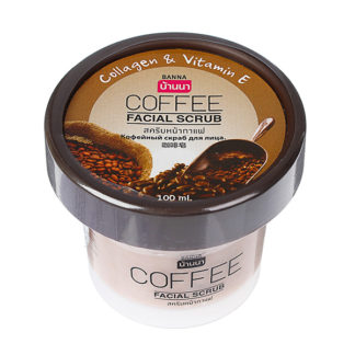 Тропический скраб для лица Banna Кофейный