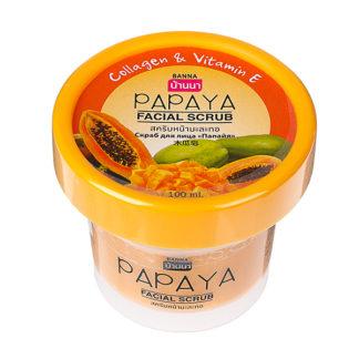 Тропический скраб для лица Banna Папайя