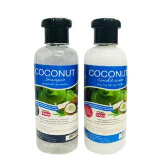Набор шампунь и кондиционер Banna с кокосом