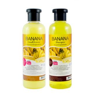 Набор шампунь и кондиционер Banna с бананом
