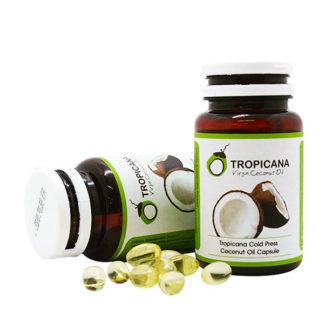 Кокосовое масло Tropicana 60 капсул