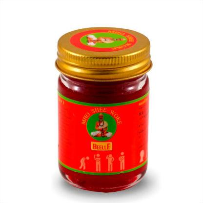 Тайский красный бальзам Mho Shee Woke