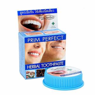 Зубная паста Prim Perfect с экстрактом трав