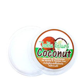 Натуральный бальзам для губ Ilene с кокосом