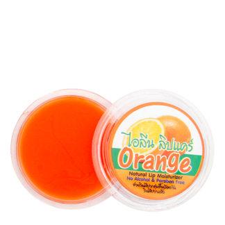 Натуральный бальзам для губ Ilene с апельсином