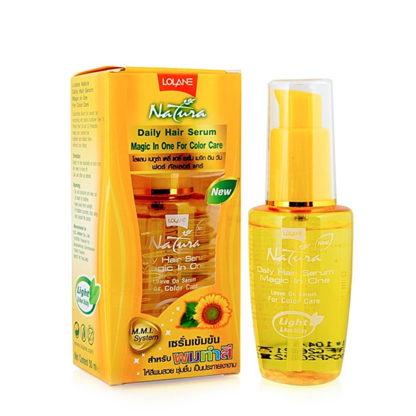 Сыворотка для окрашенных волос Lolane Natura Color Hair Serum