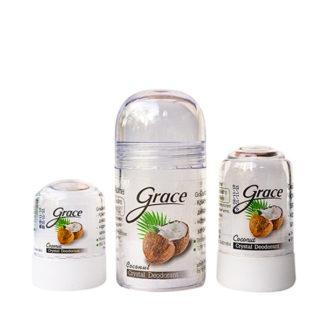Натуральный дезодорант кристалл Кокос Grace
