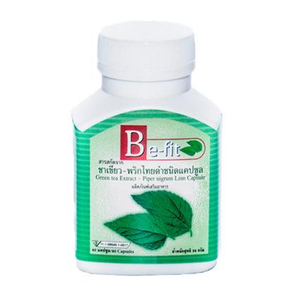 Капсулы для похудения Be-Fit с зеленым чаем и перцем