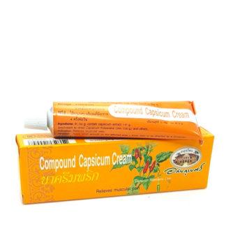 Обезболивающий крем Compound Capsicum Cream Abhai Herb
