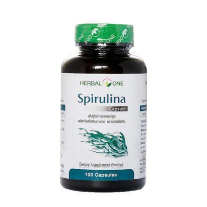Спирулина в капсулах Spirulina Herbal One