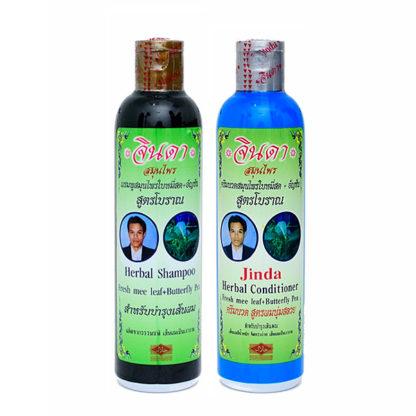 Набор травяной кондиционер и шампунь Jinda от выпадения волос