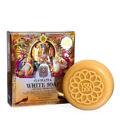 Легендарное Белое травяное мыло Клеопатра VOODOO