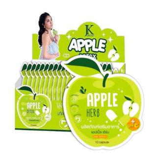 Капсулы для похудения и детокса Green Apple Herb Detox