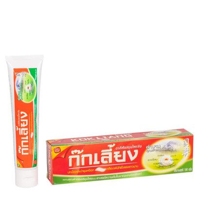 Зубная паста с лотосом и женьшенем Kokliang