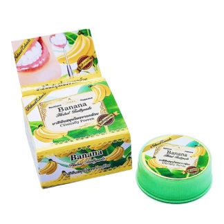 Отбеливающая тайская зубная паста Rochjana с экстрактом банана