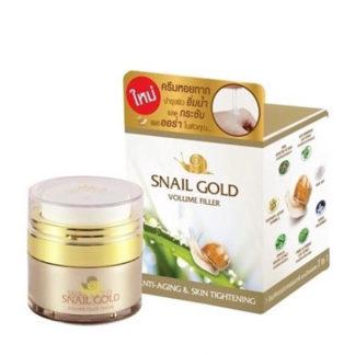 Крем-филлер с муцином золотой улитки Snail Gold Volume Filler