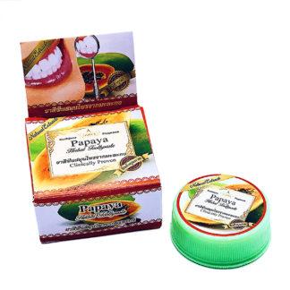 Отбеливающая паста с экстрактом папайи Rochjana Papaya