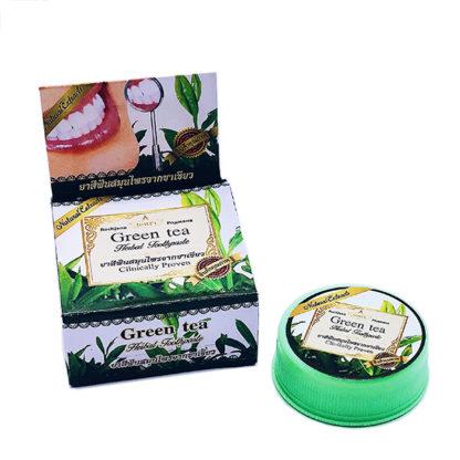Отбеливающая паста с экстрактом зеленого чая Rochjana