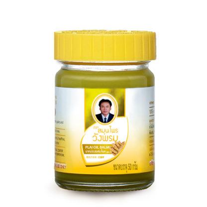 Охлаждающий желтый бальзам Wangprom