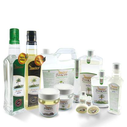 Натуральное органическое 100% кокосовое масло Thai Pure