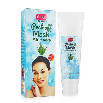 Маска-пленка с экстрактом алоэ-вера Banna Aloe Peel-off Mask