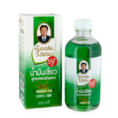 Зеленое масло от герпеса Wang Prom Green Oil 100 мл