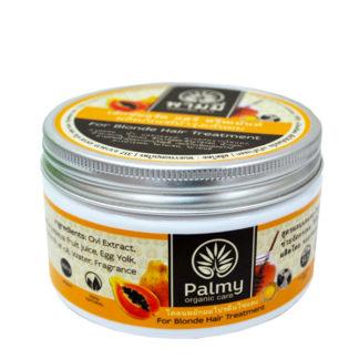 Маска Palmy для светлых волос с папайей, медом и кунжутом
