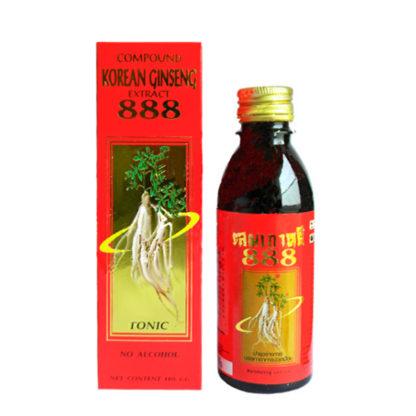 Настойка золотого женьшеня 888 - Эффективное средство для потенции
