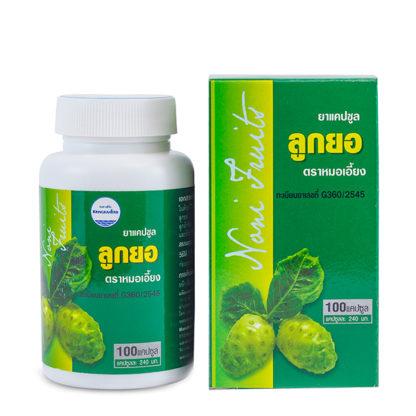 Капсулы Нони для иммунитета Kongka Herb Noni Capsules