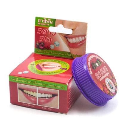 Круглая травяная зубная паста с мангостином 5 звезд - 5 Stars Cosmetick