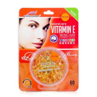 Капсула для лица PIAOXIU Vitamin E питает, быстро впитывается, не оставляет жирности. Капсула PIAOXIU SKINCARE