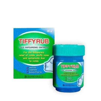 Tiffyrub бальзам тайский от простуды
