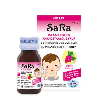 жаропонижающий сироп сара для детей