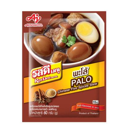 RosDee menu Palo