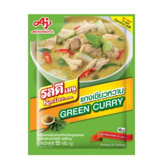 RosDee menu Green Curry
