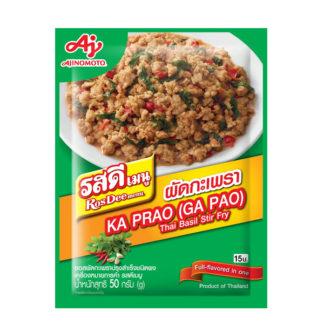 RosDee menu Kaprao