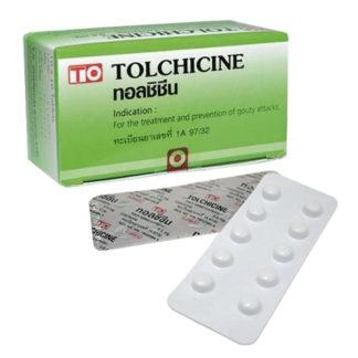 толхицин таблетки от подагры