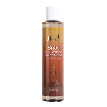 Улиточный мицелярный лосьон от морщин - Moods snail anti-wrinkle water liquid