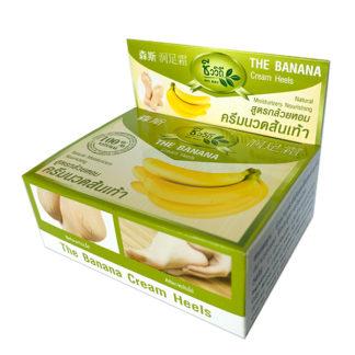 Знаменитый банановый тайский крем мягкие пяточки без трещин - BIO WAY banana cream heels