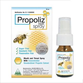 Натуральный спрей для лечения боли в горле с прополисом