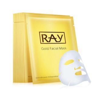 Премиум маска для сужения пор - Ray Gold Facial Mask